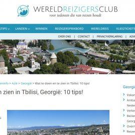 Artikel over Tbilisi